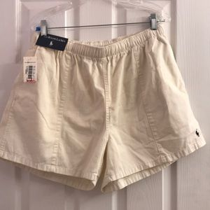 Ralph Lauren Polo Cream Colored Shorts XXL